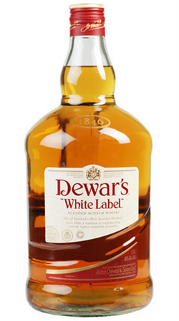 Dewars Scotch White Label